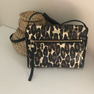 Kate Spade Cheetah Print Crossbody Bag